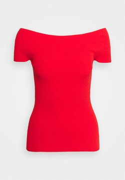 Theory - COMPACT  - T-shirt con stampa - scarlet