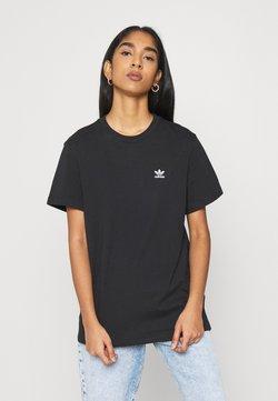adidas Originals - LOOSE TEE - Printtipaita - black