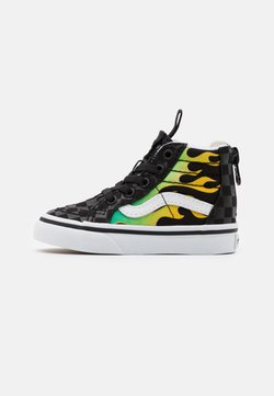 Vans - SK8 ZIP UNISEX  - High-top trainers - black/true white