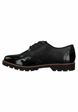 Jana - Sznurowane obuwie sportowe - black