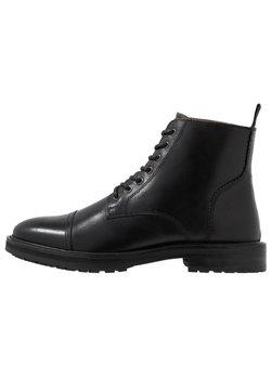 Topman - ORBIS HERITAGE BOOT - Schnürstiefelette - black