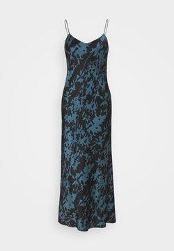 ASCENO - THE LYON SLIP DRESS - Nachthemd - black