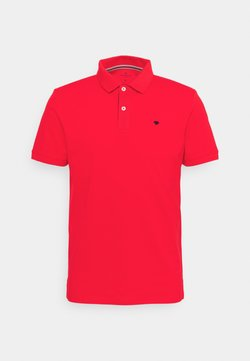 TOM TAILOR - BASIC WITH CONTRAST - Poloshirt - powerful red