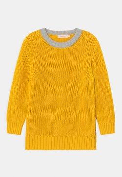 TINYCOTTONS - COLOURBLOCK UNISEX - Jersey de punto - yellow