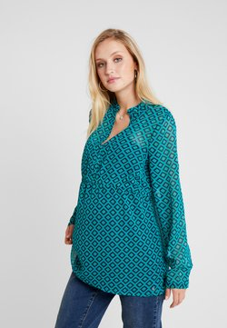 Esprit Maternity - BLOUSE NURSING - Blouse - teal green