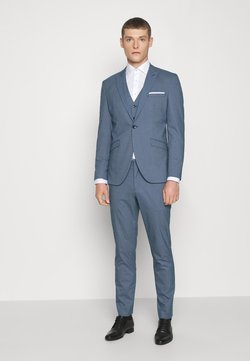 Selected Homme - SLHSLIM HOUND  SUIT SET - Anzug - ashley blue