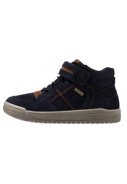 Superfit - EARTH - Sneaker high - blau/braun