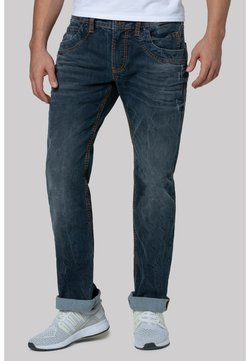 Camp David - REGULAR FIT  RU:SL IM VINTAGE STYLE - Jeans Straight Leg - authentic used