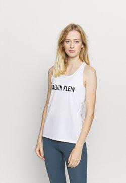 Calvin Klein Performance - TANK - Toppi - white
