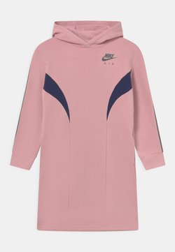 Nike Sportswear - AIR DRESS - Freizeitkleid - pink glaze/midnight navy
