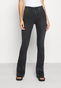 Replay - NEWLUZ - Flared Jeans - dark grey