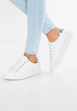 Calvin Klein - SOLANGE - Sneakers laag - white/silver