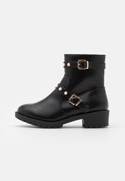 Bianco Wide Fit - BIAPEARL FASHION BOOT WIDE FIT  - Classic ankle boots - black
