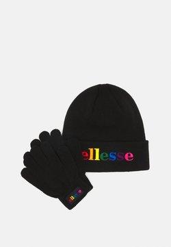 Ellesse - HALINA BENAIE HABBA GLOVE PACK SET UNISEX - Fingerhandschuh - black
