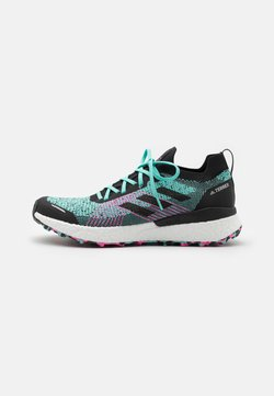 adidas Performance - TERREX TWO ULTRA PRIMEBLUE - Zapatillas de trail running - acid mint/core black/screaming pink