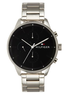 Tommy Hilfiger - CASUAL CHASE - Montre à aiguilles - silver-coloured/black