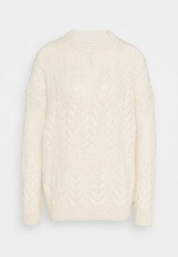ONLY - ONLBENIN CABLE - Pullover - pumice stone melange