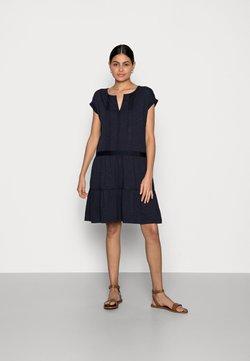 Esprit - STRUC TAPE DRESS - Sukienka letnia - navy