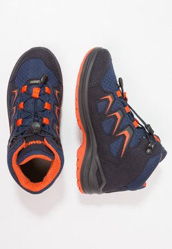 Lowa - INNOX EVO GTX QC JUNIOR UNISEX - Vaelluskengät - navy/orange