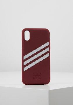 adidas Originals - MOULDED CASE FOR IPHONE X/XS - Kännykkäpussi - collegiate burgundy