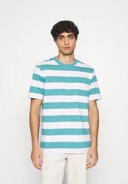 GAP - STRPE - T-Shirt print - deep sea glass