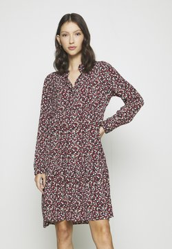 JDY - JDYPIPER DRESS - Vestido camisero - dark navy/rosa ditsy