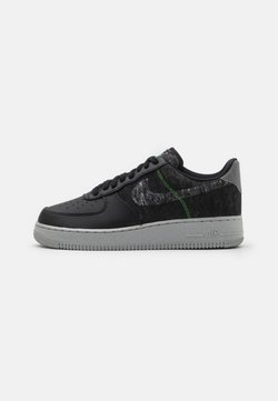 Nike Sportswear - AIR FORCE 1 '07 LV8 - Sneaker low - black/clear/electric green/light bone/smoke grey