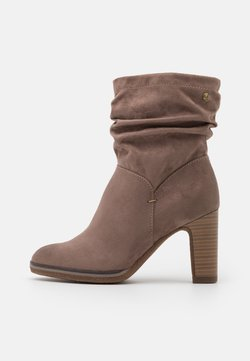 s.Oliver - High heeled ankle boots - pepper