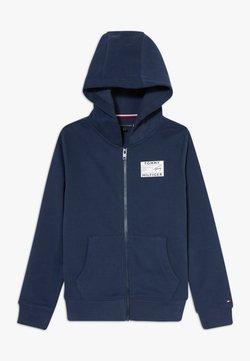 Tommy Hilfiger - REFLECTIVE GRAPHIC FULL ZIP - veste en sweat zippée - blue