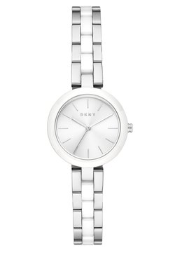DKNY - CITY LINK - Uhr - silver-coloured/white