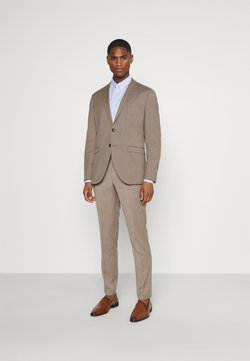 Selected Homme - SLHSLIM MYLOBILL STRUCTURE SUITE - Anzug - sand