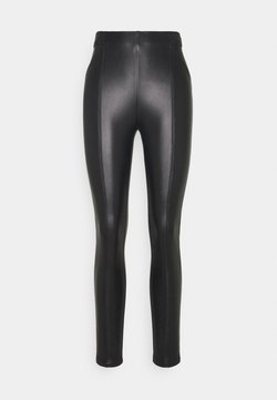 Opus - ELVY - Leggings - Hosen - black