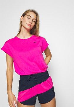 Reebok - SUPREMIUM DETAIL TEE - T-Shirt print - pink