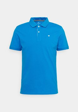 TOM TAILOR - BASIC WITH CONTRAST - Poloshirt - bright ibiza blue