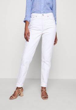 Topshop Tall - MOM CLEAN - Jeans relaxed fit - off white