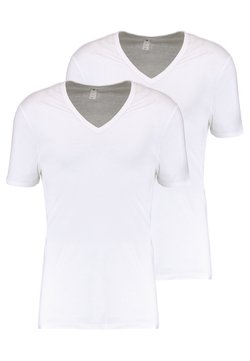 G-Star - BASE 2 PACK - T-Shirt basic - white