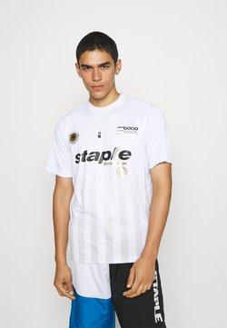 STAPLE PIGEON - VERTICAL SOCCER UNISEX - T-Shirt print - white