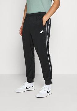 Nike Sportswear - REPEAT - Spodnie treningowe - black