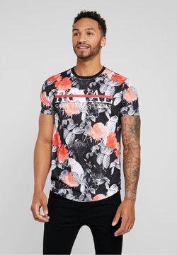 Brave Soul - RAVEN - T-shirts med print - grey