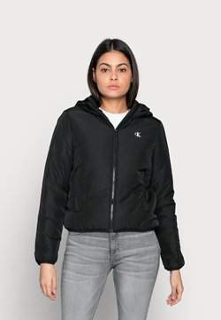 Calvin Klein Jeans - HERO LOGO PADDED JACKET - Winterjacke - black