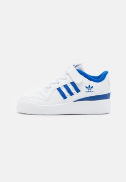 adidas Originals - FORUM UNISEX - Matalavartiset tennarit - footwear white/team royal blue