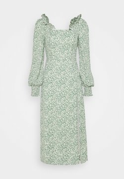 Fashion Union - BLOSSOM DRESS - Freizeitkleid - green