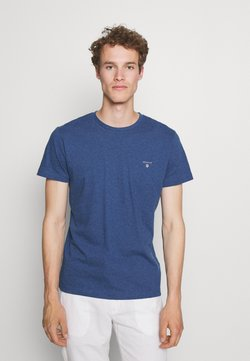 GANT - ORIGINAL - T-shirt basic - indigo blue melange