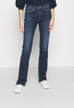 Tommy Jeans - MADDIE BOOTCUT  - Bootcut-farkut - hanna dark blue comfort