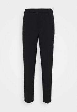 Anna Field - Slim fit business trousers - Spodnie materiałowe - black