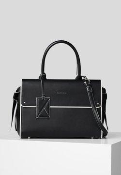 KARL LAGERFELD - Handtasche - black/ white