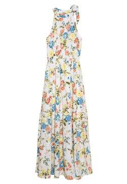 Dorothy Perkins - TIE NECK FLORAL DRESS - Maxi dress - ivory