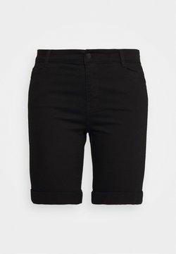 Evans - Jeansshort - black