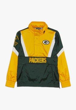Outerstuff - NFL GREEN BAY PACKERS - Windbreaker - fir/university gold