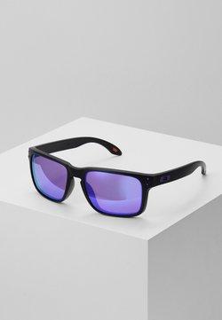 Oakley - HOLBROOK - Lunettes de soleil - matte black/prizm violet